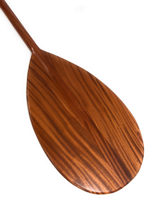 "Decorative Koa Paddle 60"" Steersman Tear Drop - Made in Hawaii | #koa6183B"