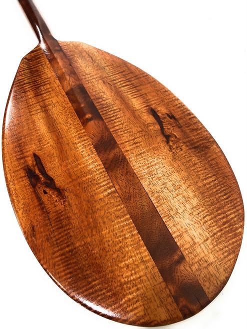 "Exquisite AAA Grade Koa Paddle 50"" w/ T-Handle - Made in Hawaii   #koa6134"