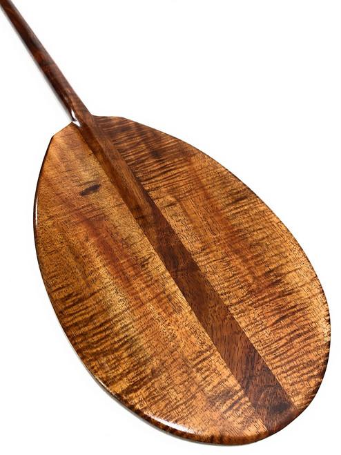 "Exquisite AAA Grade Koa Paddle 50"" w/ T-Handle - Made in Hawaii   #koa6167"