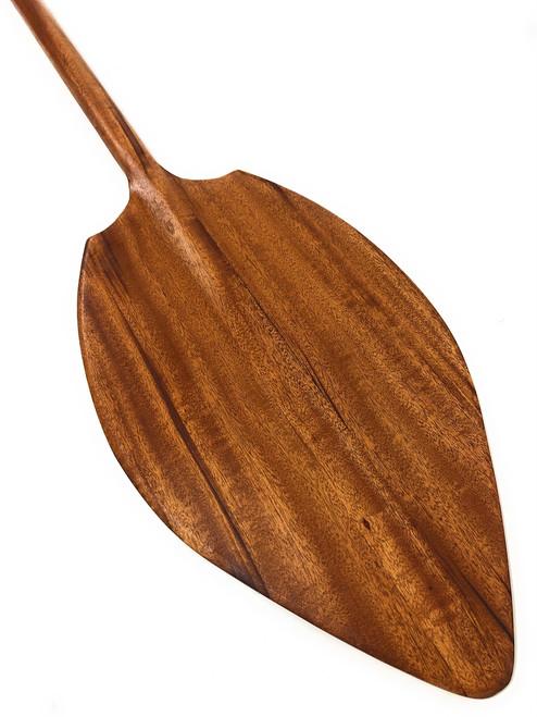 """Alii Koa Paddle 60"""" Straight Shaft - Made in Hawaii   #KOA6221"""