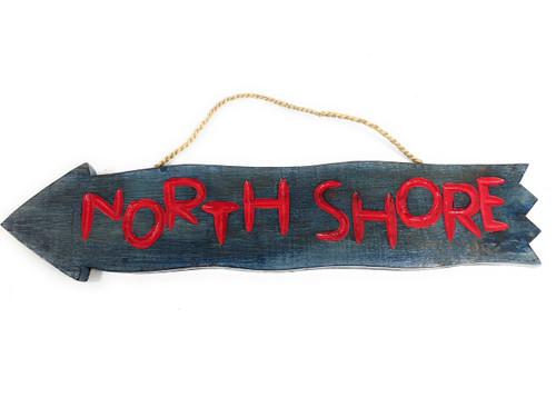 """Northshore Arrow Driftwood Sign 20"""" - Tropical Decor   #dpt528250"""