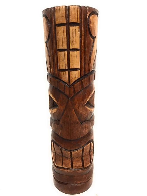 """Long Life Tiki Totem 10"""" - Antique Finish - Hawaii Gifts   #dpt535925b"""