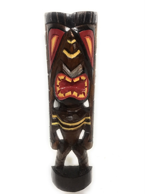"Happiness Tiki God 20"" - Hand Carved - Hawaii 