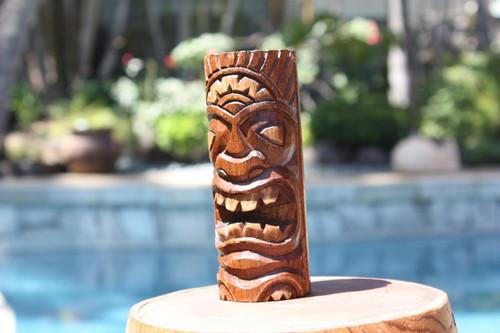 "Winner Tiki Totem 6"" - Hand Carved"