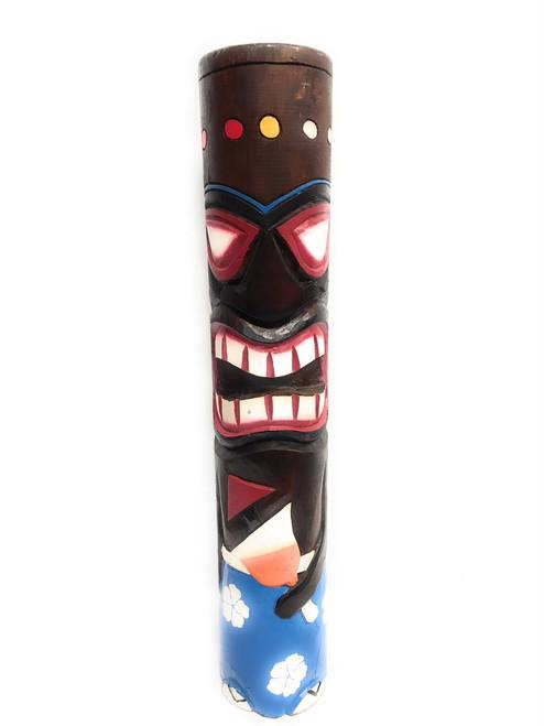 """Tiki Totem Pole Hula & Mai Tai 40""""   #dpt5362100"""