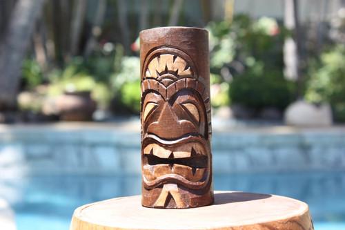 """Love Tiki Totem 6"""" - Hand Carved"""