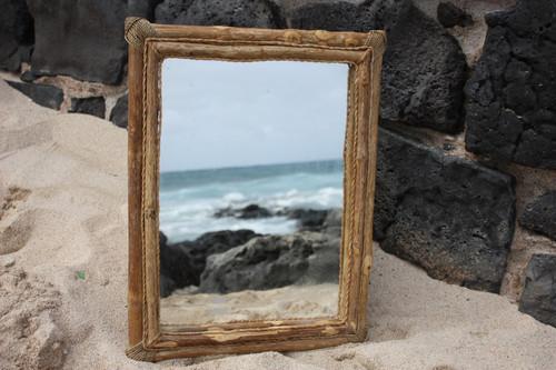 "Coffee Tree Rectangular Mirror 16""x20"" - Coastal Living"