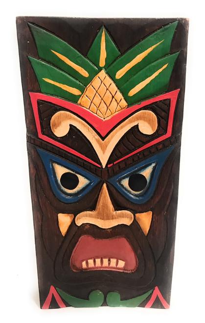 "Hospitality Tiki Shield Mask 12"" Plaque - Pop Art Culture   #dpt512530"