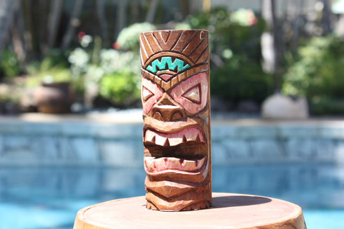"Fertility Tiki Totem 6"" - Hand Carved"