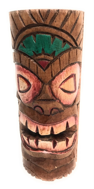 "Fertility Tiki Totem 6"" - Hand Carved 
