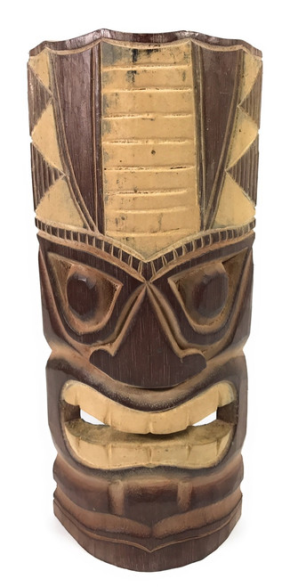 """Earth"" Carved Tiki Mask 12"" - Tiki Decor   #dpt514130"