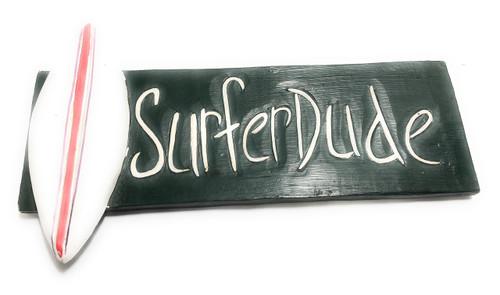 "Surfer Dude Sign 14"" - Surfing Decor | #dpt519935"