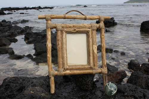Coffee Tree Photo Frame Designer 4 X 6 Photo - Coastal Decor