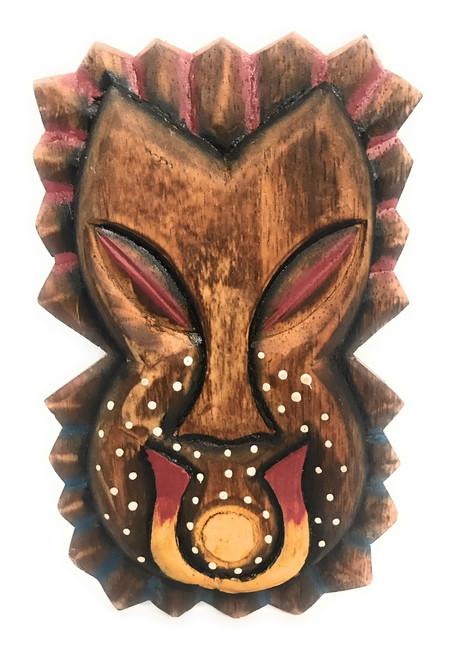"Tiki Shield Mask 8"" Wall Plaque - Pop Art Culture   #dpt512820"