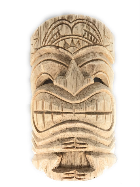 """Love Tiki Mask 8"""" Unfinished - Kid Craft Idea Paint Your Own DIY 