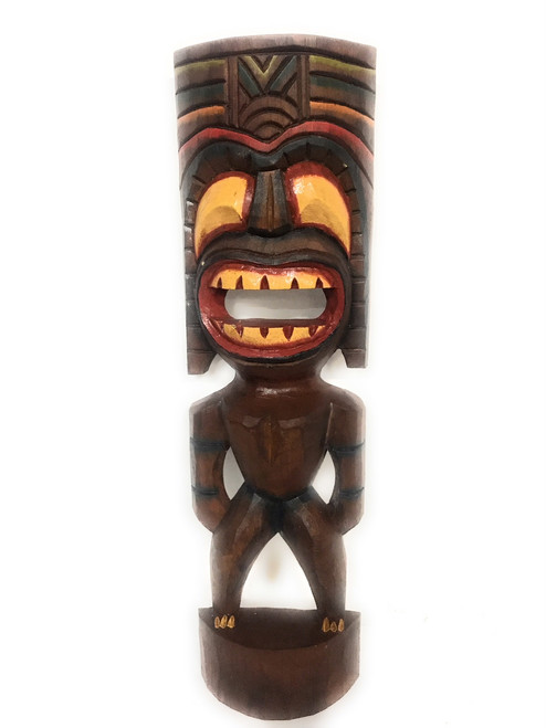 "Big Kahuna Tiki 20"" - Hand Painted Finish - Tiki Trophies 