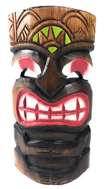 "Pop Art Tiki Mask 8"" - Strength Tiki Art | #dpt514420"