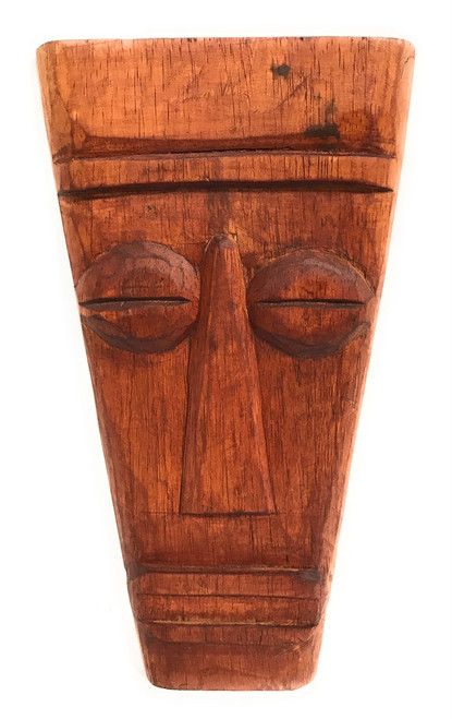 "Papua Tiki Mask 12"" - Tribal Pop Art Modern Tiki 