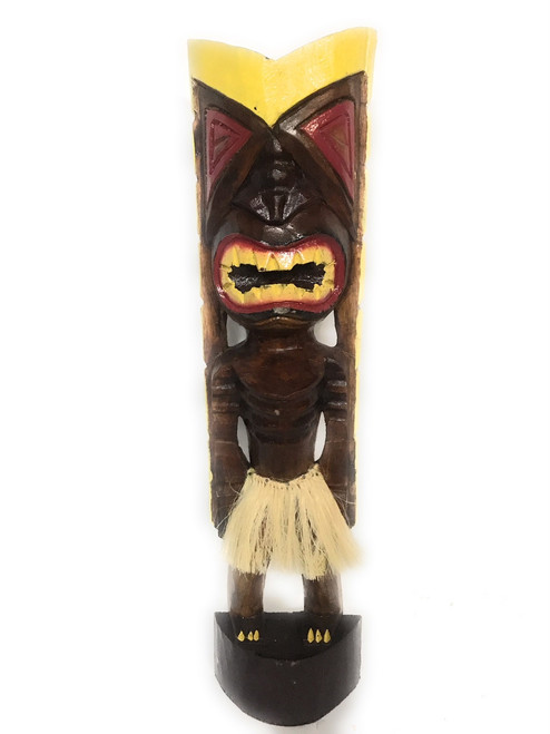 "Big Chief Tiki God 20"" - Hand Carved - Hawaii Treasure 
