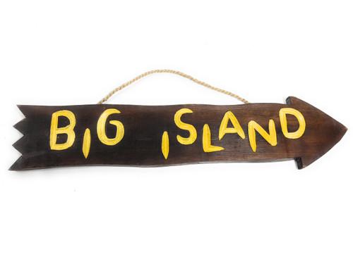 "Big Island Arrow Driftwood Sign 20"" - Tropical Decor   #dpt529450"
