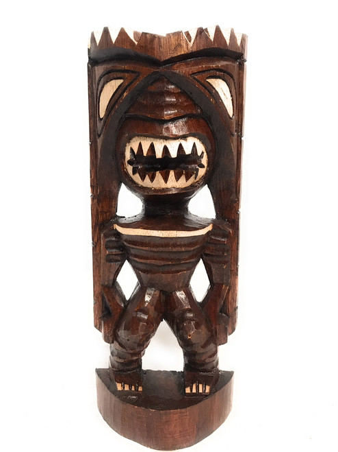 "Pahaku Tiki 12"" - Winner Tiki Idol - Hand Carved 