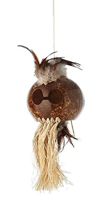 "Makini Warrior Chief Mask - 11"" - Hawaiian Tradition 