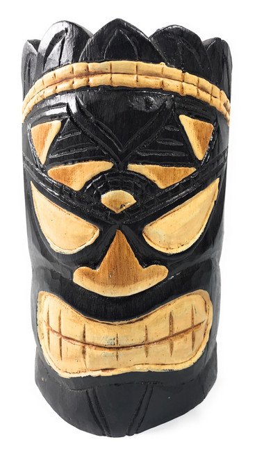 "Smokin' Aces Tiki Mask 8"" - Lucky Tiki Idol 