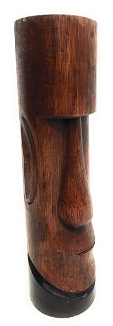 "Moai Easter Island Tiki Totem 10"" - Hand Carved | #dpt537125"