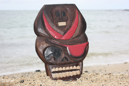 """CAPTAIN SKULLY"" PIRATE HEAD WALL PLAQUE 12"" - PIRATE DECOR"