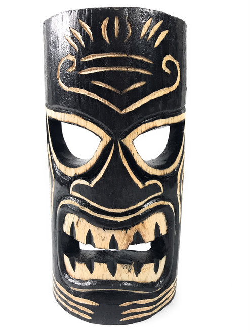 Strength Tiki Mask 8 Quot Hand Carved Dpt513120