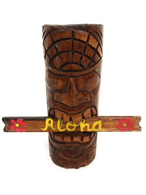 "Winner Tiki Totem 6"" w/ Aloha sign - Hawaii Gifts   #dpt540715"
