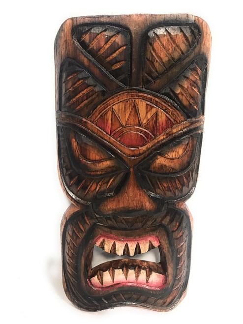 """Money Tiki Mask Shield 8"""" Plaque - Pop Art Culture   #Dpt514830"""