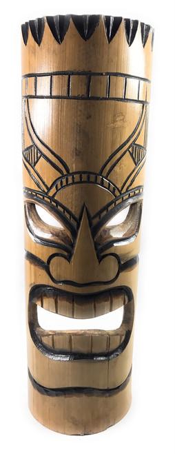 "Love bamboo Tiki Mask 20"" - Burnt Finish   #dpt509550"