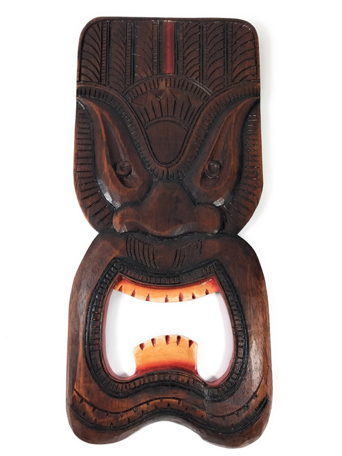 "Ocean Tiki Mask 20"" - Wall Plaque - Tropical Decor 