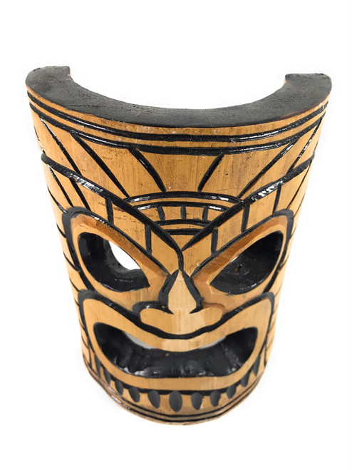 Warrior Chief Bamboo Tiki Mask 8 Quot Dpt509720