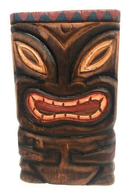 """Fertility Tiki Shield Mask 8"""" Plaque - Pop Art Culture   #dpt515120"""