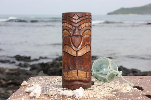 """Vegas Baby Tiki Totem 6"""" - Antique Finish - Hawaii Gifts"""