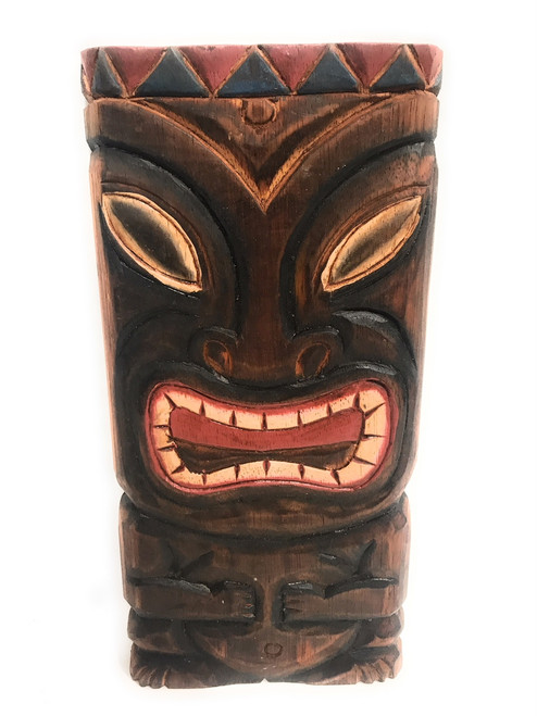 "Fertility Tiki Shield Mask 8"" Plaque - Pop Art Culture 