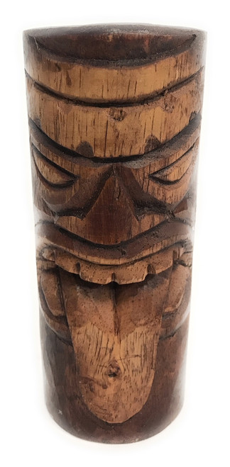 "Strength Tiki Totem 6"" - Antique Finish - Hawaii Gifts 