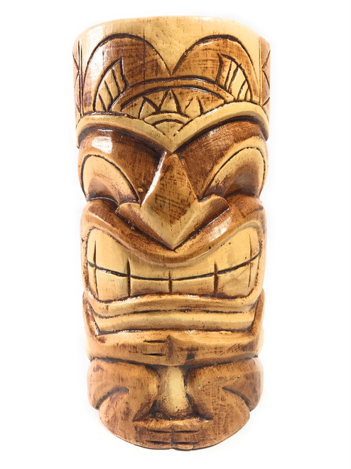 "Money tiki mask 8"" - Hand Carved   #bds1202220"