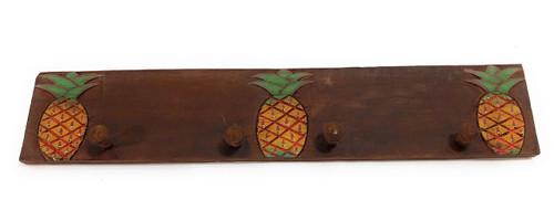 "3-Pineapple Hanger 20"" w/ 4 Pegs - Tropical Decor | #dpt510150"