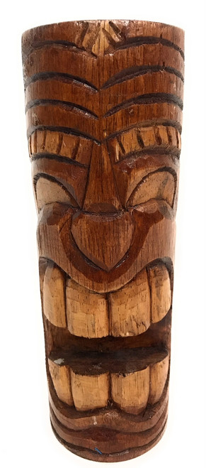 "Laughing Tiki Totem 8"" - Antique Finish - Hawaii Gifts 