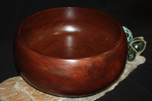 "Calabash Bowl, Large 14""X6"" - Wooden 