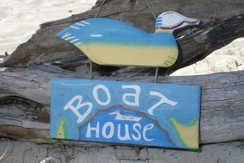 """""""BOAT HOUSE"""" LAKE HOUSE SIGN 15"""" - NAUTICAL DECOR 2"""
