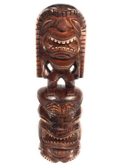 "Tiki Statue Lono & Kanaloa 24"" - Love & Prosperity   # ..."