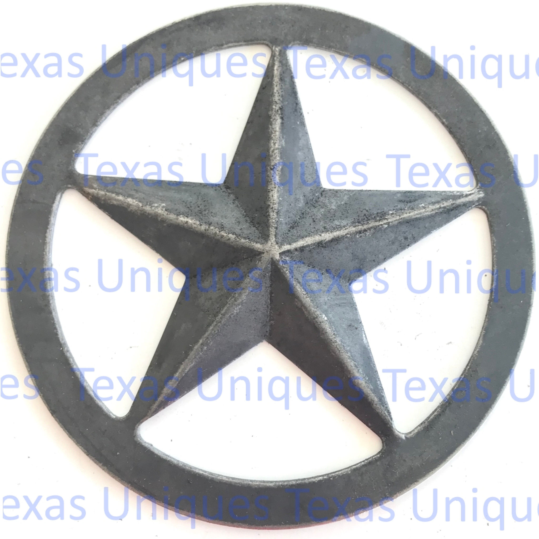 Metal Cut Out Of Texas Star Texas Uniques Store