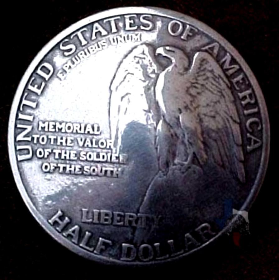 Stone Mountain Eagle Coin Concho
