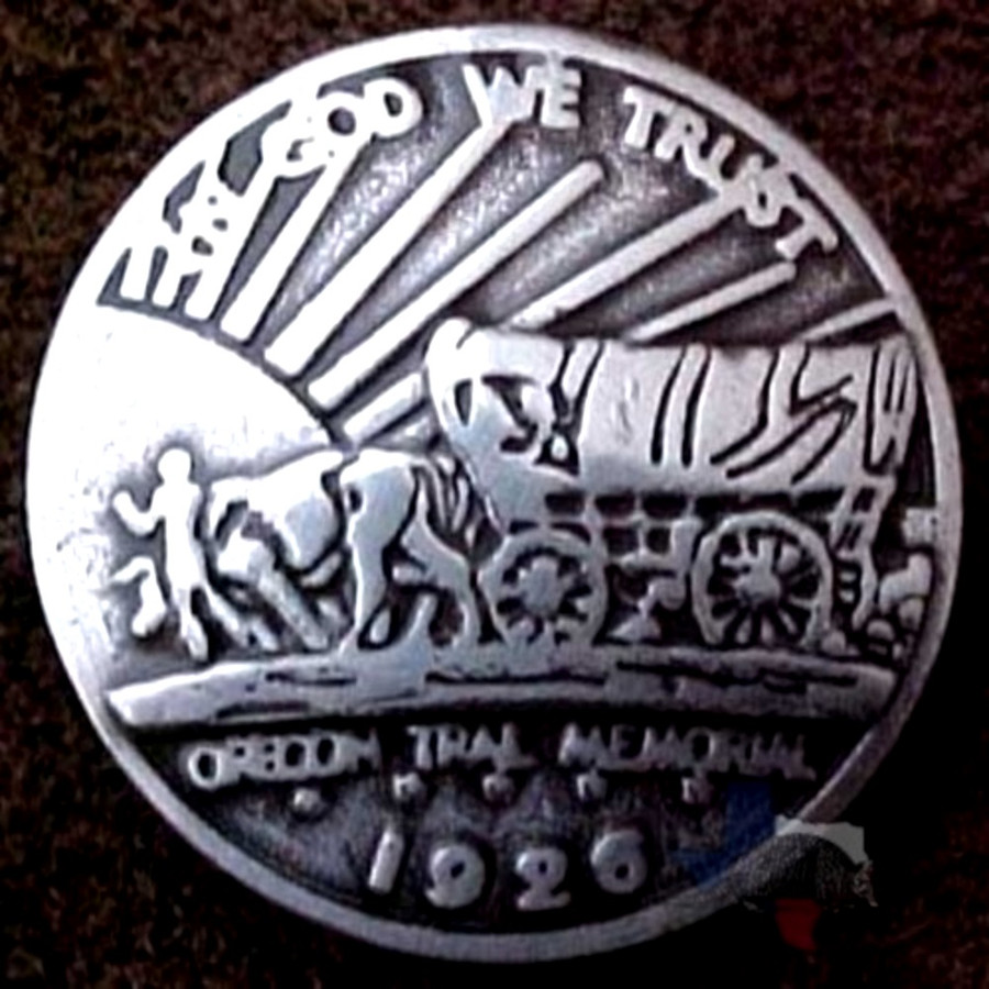 Oregon Trail Coin Reproduction Conchos