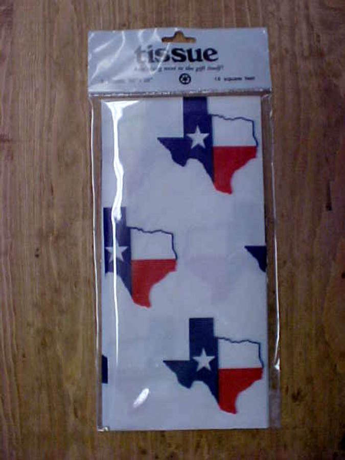 Texas Flag Tissue Paper TX2008