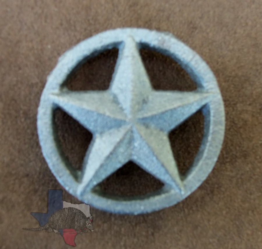 Cast Iron Texas 3 D Star On Circle Texas Uniques Store